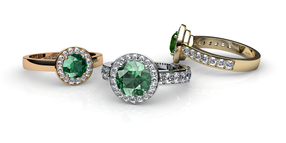 Violet. Green toumaline and diamonds pave ring