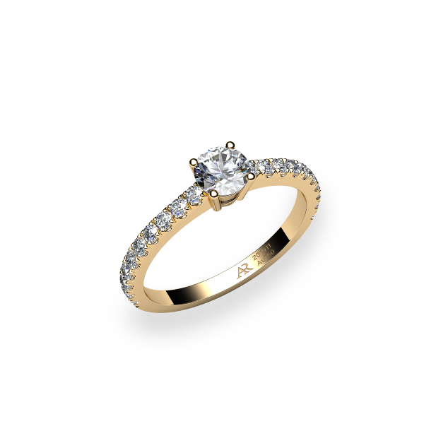 Bellatrix. Prongs-set diamond ring